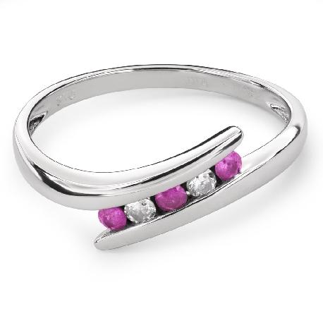 """Золотое кольцо с драгоценными камнями """"Сапфир 28"""""""