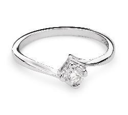 """Saderināšanās gredzens ar Dimantiem """"Mīlestības apskāvienos 30"""""""