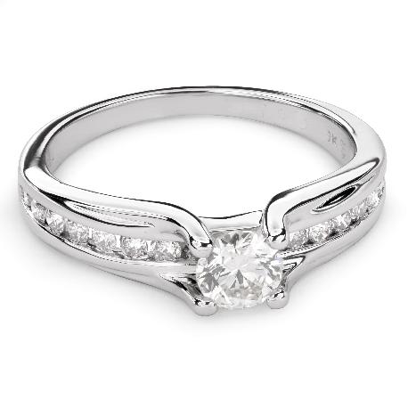 """Золотое кольцо с Бриллиантами """"Грациозность 92"""""""