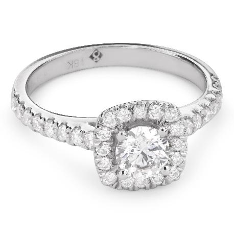 """Помолвочное кольцо с Бриллиантами """"Бриллиантовый букет 37"""""""