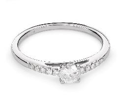 """Помолвочное кольцо с Бриллиантами """"Грациозность 98"""""""