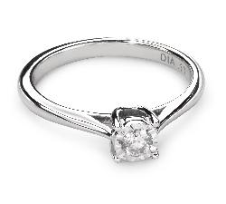 """Золотое кольцо с  Бриллиантом """"Возлюбленный 50"""""""