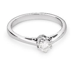 """Помолвочное кольцо с Бриллиантом """"Единственная 80"""""""