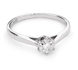 """Помолвочное кольцо с бриллиантом """"Едиaнственная 82"""""""