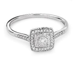 """Помолвочное кольцо с Aлмазами """"Бриллиантовый букет 39"""""""