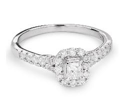 """Золотое кольцо с Aлмазами """"Незабываемый 14"""""""