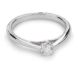 """Помолвочное кольцо с бриллиантом """"Богиня 84"""""""
