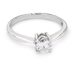 """Помолвочное кольцо с Бриллиантом """"Прочность 93"""""""