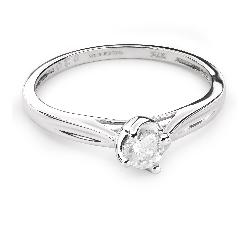 """Помолвочное кольцо с Бриллиантом """"В объятиях любви 35"""""""