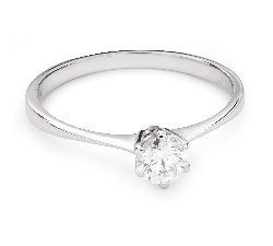 """Помолвочное кольцо с Бриллиантом """"Принцесса 31"""""""