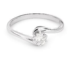 """Помолвочное кольцо с Бриллиантом """"В объятиях любви 33"""""""