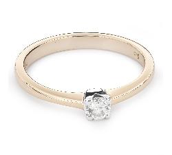 """Saderināšanās gredzens ar Briljantu """"Elegance 24"""""""