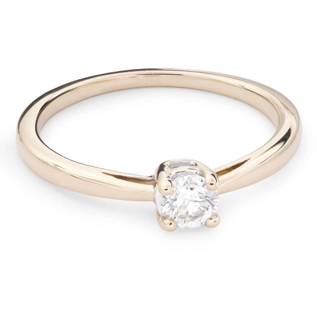 """Saderināšanās gredzens ar Briljantu """"Elegance 23"""""""