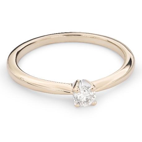 """Saderināšanās gredzens ar Briljantu """"Elegance 22"""""""