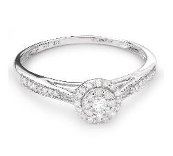 """Помолвочное кольцо с Бриллиантами """"Бриллиантовый букет 41"""""""