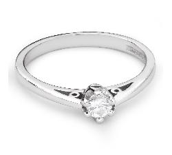 """Помолвочное кольцо с Бриллиантом """"Единственная 85"""""""