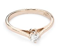 """Помолвочное кольцо с Бриллиантом """"Единственная 87"""""""