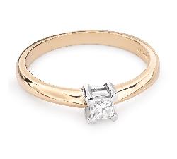 """Saderināšanās gredzens ar Dimantu """"Princese 57"""""""