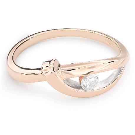 """Zelta gredzens ar Briljantu """"Dzīve 29"""""""