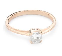 """Помолвочное кольцо с Aлмазом """"Принцесса 58"""""""
