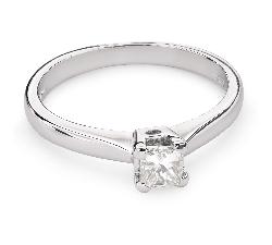 """Помолвочное кольцо с Aлмазом """"Принцесса 59"""""""