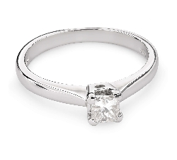 """Saderināšanās gredzens ar Dimantu """"Princese 59"""""""