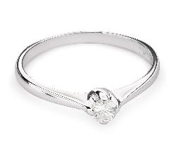 """Помолвочное кольцо с Бриллиантом """"Единственная 92"""""""
