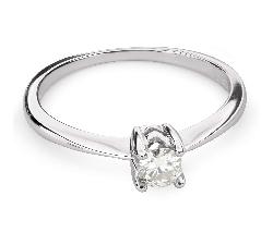 """Помолвочное кольцо с Бриллиантом """"Прочность 95"""""""