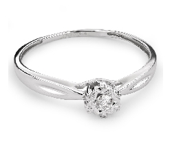 """Saderināšanās gredzens ar briljantu """"Mīļais 97"""""""