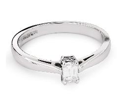 """Помолвочное кольцо с Aлмазом """"Прочность 96"""""""
