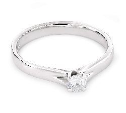 """Помолвочное кольцо с бриллиантом """"Богиня 96"""""""