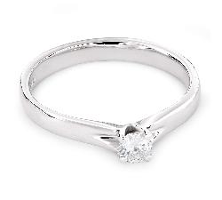 """Saderināšanās gredzens ar briljantu """"Dieviete 96"""""""
