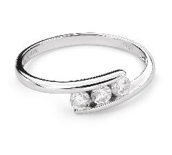 """Золотое кольцо с алмазом """"Среди скал 20"""""""
