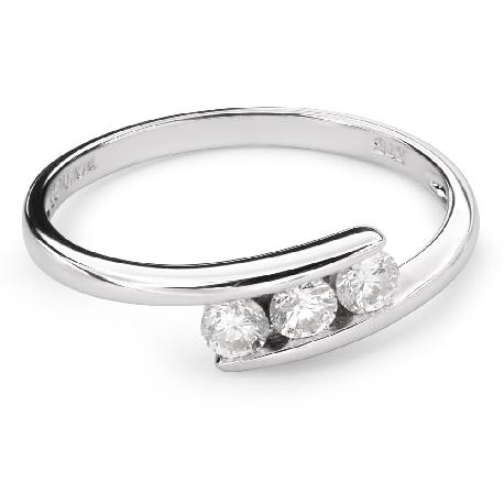 """Zelta gredzens ar dimantu """"Starp klintīm 20"""""""