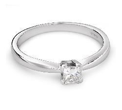 """Saderināšanās gredzens ar dimantu """"Princese 61"""""""