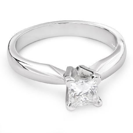 """Помолвочное кольцо с Aлмазом """"Принцесса 62"""""""
