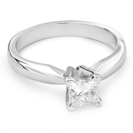 """Saderināšanās gredzens ar Dimantu """"Princese 62"""""""