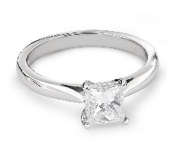"""Saderināšanās gredzens ar Dimantu """"Princese 63"""""""