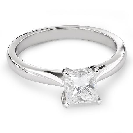 """Помолвочное кольцо с Aлмазом """"Принцесса 63"""""""