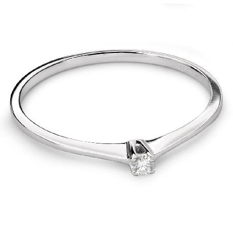 """Saderināšanās gredzens ar briljantu """"Dieviete 101"""""""