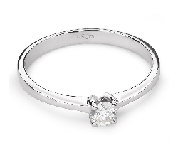 """Помолвочное кольцо с Бриллиантом """"Богиня 104"""""""
