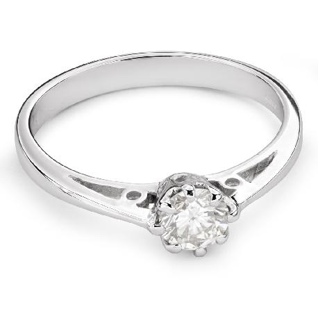 """Помолвочное кольцо с бриллиантом """"Единственная 95"""""""