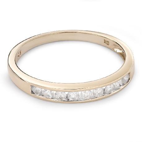 "Zelta gredzens ar Briljantiem ""Dimanta jostīte 48"""