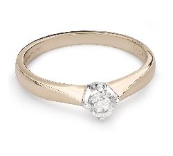 """Помолвочное кольцо с Бриллиантом """"Единственная 99"""""""