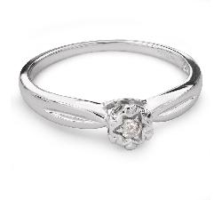 """Помолвочное кольцо с бриллиантом """"Возлюбленный 100"""""""