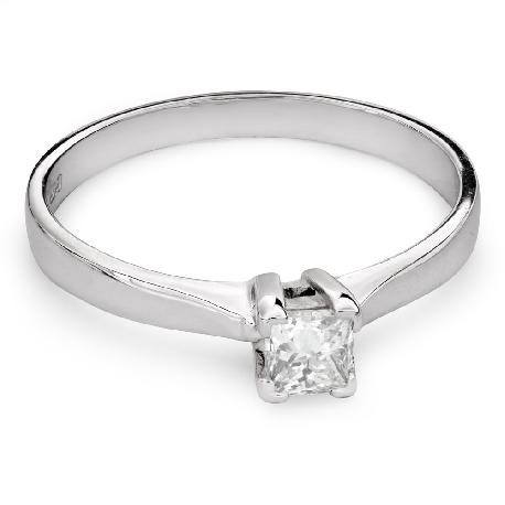 """Помолвочное кольцо с Aлмазом """"Принцесса 68"""""""