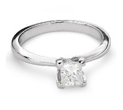 """Saderināšanās gredzens ar Dimantu """"Princese 70"""""""