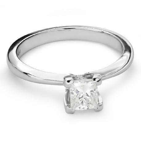 """Помолвочное кольцо с Aлмазом """"Принцесса 70"""""""