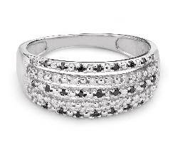 """Zelta gredzens ar Dimantiem """"Graciozitāte 44"""""""