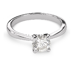 """Помолвочное кольцо с Бриллиантом """"Богиня 106"""""""